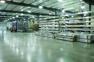 aluminum warehouse stocks