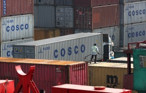 china's cosco containers