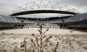greece olympic stadium ruins