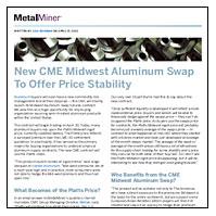 MetalMiner on CME aluminum swaps
