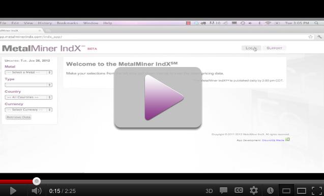 MetalMiner IndX Intro Video