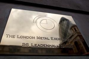 london metal exchange plaque w address