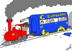 China EU anti-dumping trade war trains