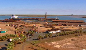 bhp billiton iron ore ops in port hedland