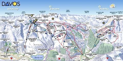 davos 2013 map