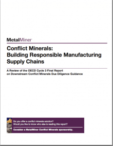 Conflict Minerals: Building Responsible Supply Chains