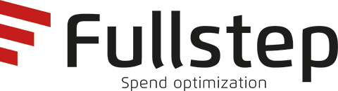 red and black fullstep spend optimization logo