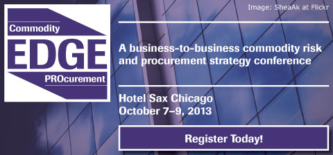 commodity procurement EDGE conference banner
