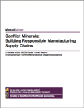 Conflict Minerals: Building Responsible Manufacturing Supply Chains cover