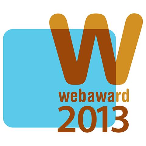 web award 2013 logo