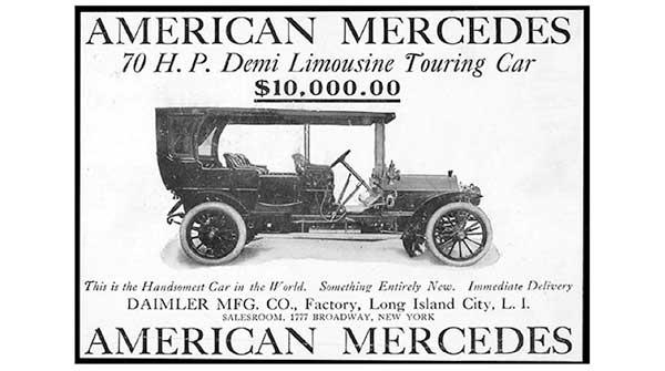american mercedes ad