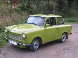 601 Trabant lime green