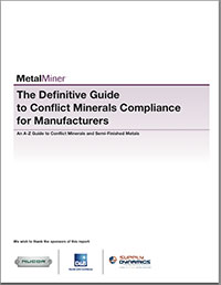 A-Z Guide to SEC Conflict Minerals Compliance for Manufacturers